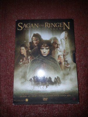 The Lord of the Rings- The Fellowship of the Ring 2001 Suedia Dvd limba engleza foto
