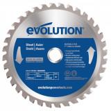 Cumpara ieftin Disc pentru fierastrau circular, taiere otel Evolution EVOEVOBLADE-0415, O180 x 20 mm, 36 dinti