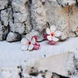 Cercei flori cires