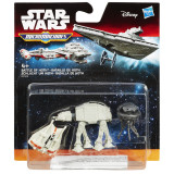 SET 3 FIGURINE MICROMACHINES EPISODUL VII BATTLE OF HOTH