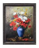 19 Tablou cu Flori de camp, reproducere celebra tablou, flori in vaza  60x80 cm
