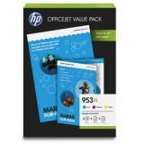 Cartus toner HP INC. 1CC21AE 953XL Officejet Value Pack CMY