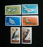 Bulgaria Fauna ,serie neuzata MNH, 1959