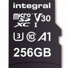 Card de memorie Integral 90V30 256GB Micro SDXC Clasa 10 UHS-I U3 + Adaptor SD