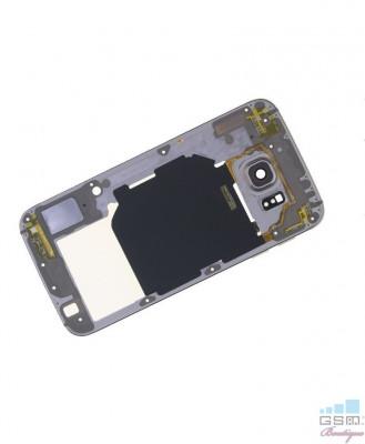 Mijloc Samsung Galaxy S6 SM G920 Dual Sim Gold foto