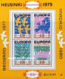 Bulgaria 1979 - European Cooperation, bloc neuzata