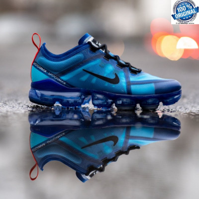 ORIGINALI !! Nike Air Vapormax 2019 Blue Force Unisex nr 36 foto