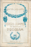 Reclame romanesti 1926 program Opera Romana Bucuresti