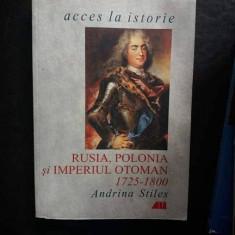 Rusia, Polonia si Imperiul Otoman, de Andrina Stiles
