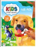 Cumpara ieftin Kaleidoscope Kids Sticker Mosaics. Cute Pets