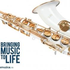 Saxofon Tenor ALB & AURIU Karl Glaser® Bb (Si bemol) sax curbat NOU