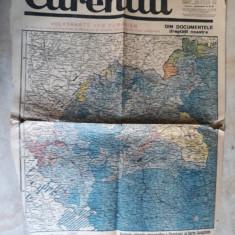 WWII -HARTA -ROMANIA, DOCUMENTELE DREPTATII NOASTRE - ZIAR CURENTUL 23 AUG. 1940