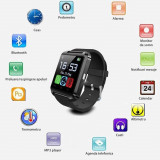 Ceas smartwatch, bluetooth, 11 functii, handsfree, MP3 player, SoVogue, negru, SoVog