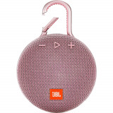 Boxa portabila JBL Waterproof Clip 3 Pink
