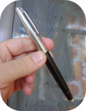 Stilou și pix negru Wing Ieng 728 _raritate_vintage