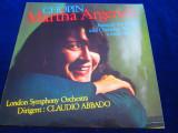 Chopin. M. Argerich - Konzert Fur Klavier Und Orchester nr.1_LP_ExLibris (1968)