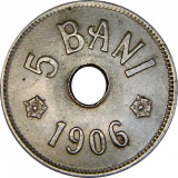 Romania, 5 bani 1906 J_aUNC * cod 18, Cupru-Nichel