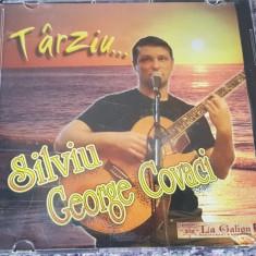 """Cumpara ieftin CD muzica folk Silviu Covaci, cu autograf, """"Tarziu..."""""""