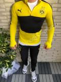 Trening Borussia Dortmund  pantaloni conici noul model  2018-2019 SUPER CALITATE, L, M, XL, XXL, Galben, Negru, Microfibra