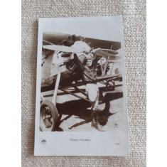 CARTE POSTALA, PERIOADA INTERBELICA, FOTO PILOT RASMON NAVARRO, NECIRCULATA