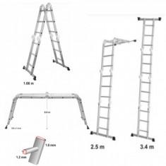 Scara multifunctionala 3.4 m VOREL