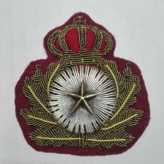 Emblema de cascheta ( coifura, sapca) general WW2 foto