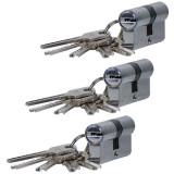 3 x Butuc pentru usa egal cu 5 chei in amprenta 60mm
