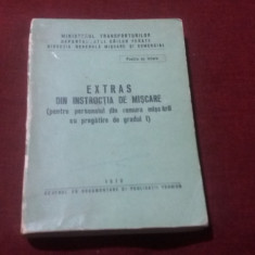 EXTRAS DIN INSTRUCTIA DE MISCARE CFR
