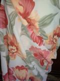 Tesatura Voal Georgette imprimat-lichidare stoc