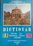 AGIEMIN BAUBEC - DICTIONAR ROMAN-TURC {1993}
