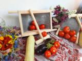 Storcator bulion și fructe . Model vintage lucrat manual ., Pentru rosii