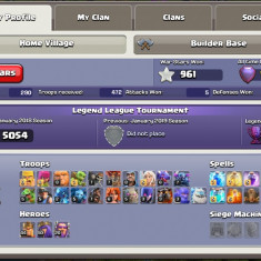 Cont Clash of Clans TH11 MAX