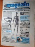 Ziarul magazin 27 aprilie 1995-articole despre claudia schiffer si mel gibson