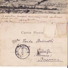 Cernavoda, Constanta , Dobrogea -  rara, clasica, Circulata, Printata