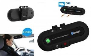Car Kit Auto Difuzor Bluetooth handsfree pentru parasolar