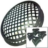 Set grilaj difuzoare metalic 8 inch (20,3 cm)