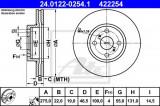Disc frana TOYOTA YARIS (P9) (2005 - 2013) ATE 24.0122-0254.1