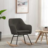 VidaXL Scaun balansoar, gri taupe, material textil