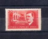 ROMANIA 1949 - 30 ANI DE LA MOARTEA LUI I.C.FRIMU - MNH - DANTELAT - LP 252, Nestampilat