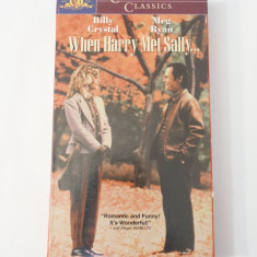 Caseta video VHS originala film - When Harry Meet Sally