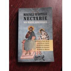 MINUNILE SFANTULUI NECTARIE, DIN EGHINA ROMANEASCA