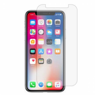 Folie sticla pentru Apple iPhone XS transparent 2.5D 9H foto