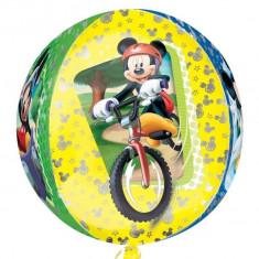 Balon folie orbz sfera Mickey Mouse - 38x40cm, Amscan 28399