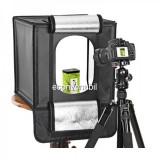 Cutie Foto Produs Mini Studio Portabil Iluminat LED 50W 44x44cm LED440