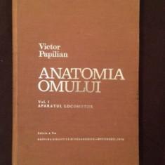 ANATOMIA OMULUI - VICTOR PAPILIAN - VOL.I