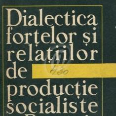 Dialectica fortelor si relatiilor de productie socialiste in Romania
