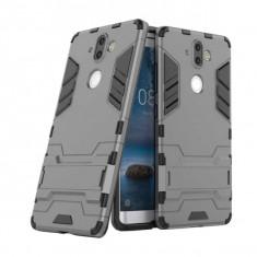 Husa hibrid g-shock pentru Nokia 8 Sirocco, gri
