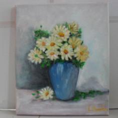 Vas cu flori 4-pictura ulei pe panza, Altul