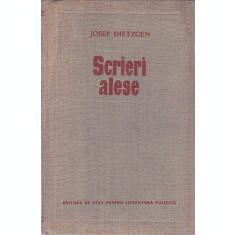 SCRIERI ALESE - JOSEF DIETZGEN