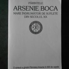 PARINTELE ARSENIE BOCA MARE INDRUMATOR DE SUFLETE DIN SECOLUL XX (usor uzata)